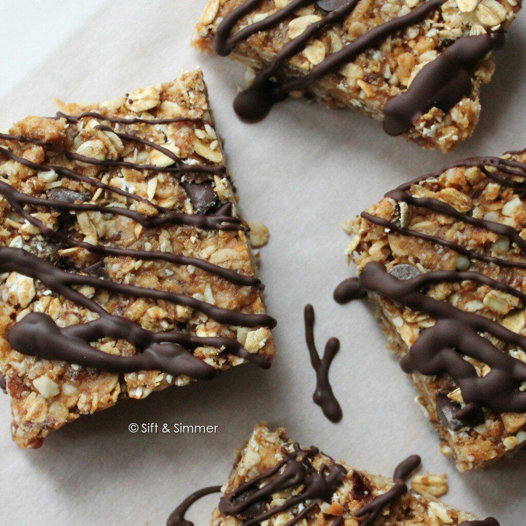 Chocolate Peanut Butter Crunch Clif Bars