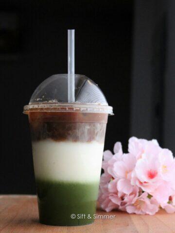 Matcha Espresso Fusion | Sift & Simmer