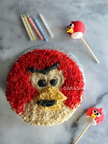 Angry Bird Cake Pop 6 | Sift & Simmer