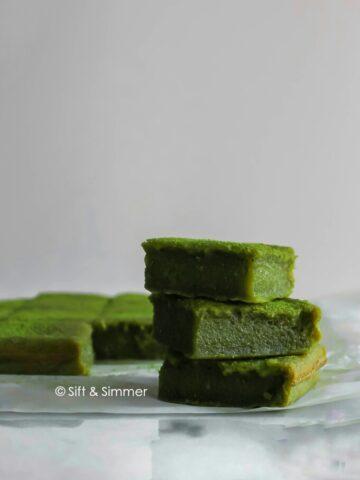 Matcha Brownie Mochi Brochi1 | Sift & Simmer