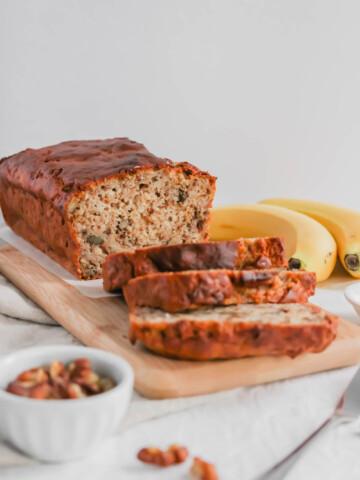 Fluffy Moist Banana Bread2 | Sift & Simmer