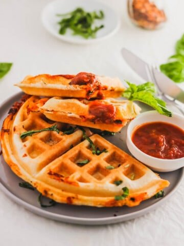 Pizza Waffles3   Sift & Simmer