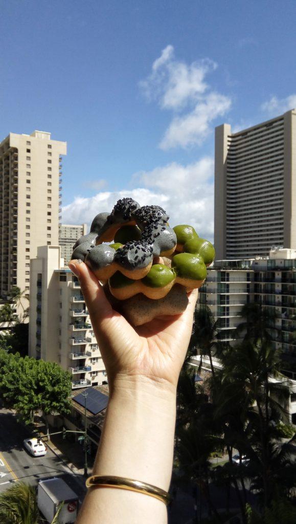Mochi donut from Modo Donuts
