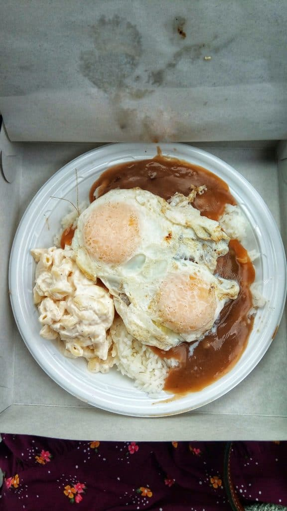 Loco Moco from Rainbow Drive In