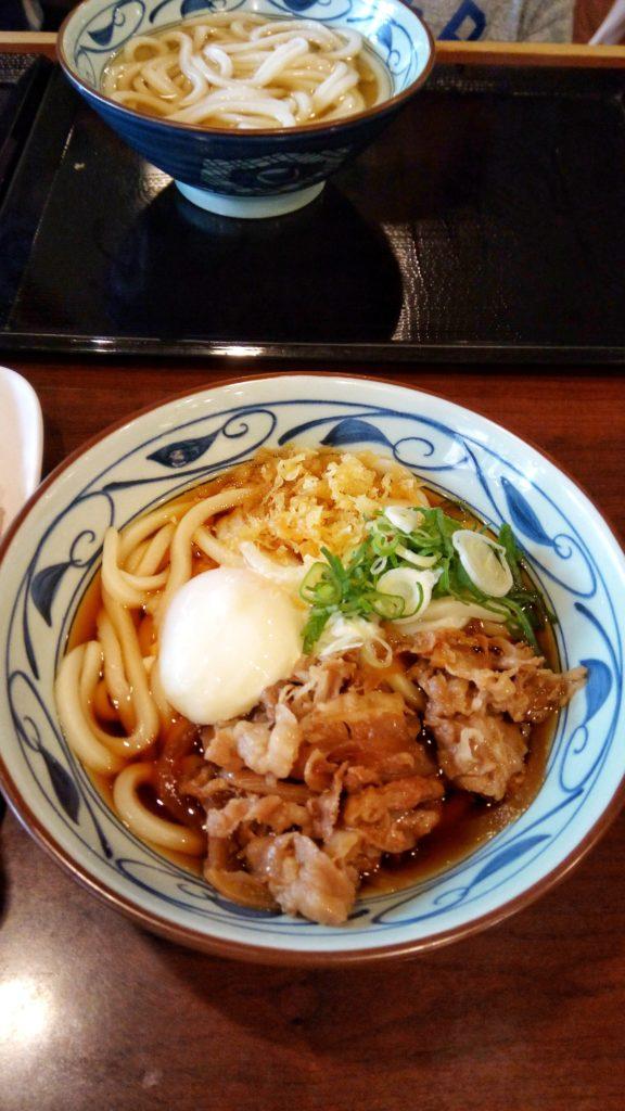 Nikutuma Udon from Marukame Udon