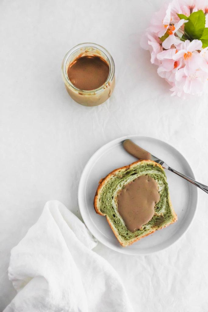 Hojicha Roasted Green Tea Milk Jam Spread1