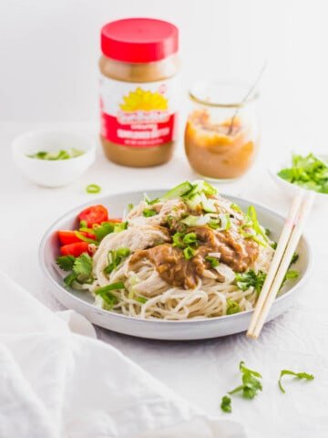 Sunbutter Chicken Noodles with Cucumber1 | Sift & Simmer