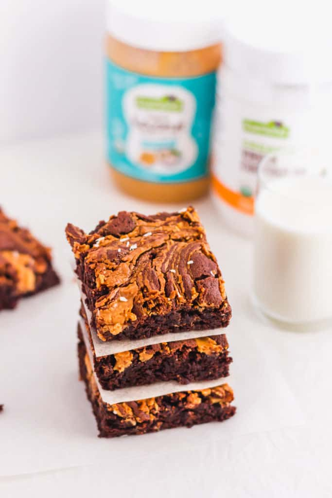 Coconut Peanut Butter Chocolate Brownie3
