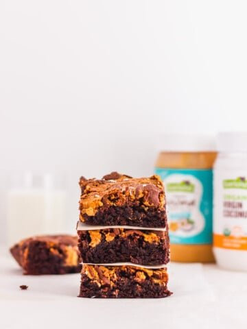 Coconut Peanut Butter Chocolate Brownie4 | Sift & Simmer