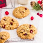 White Chocolate Cranberry Cookies4 | Sift & Simmer