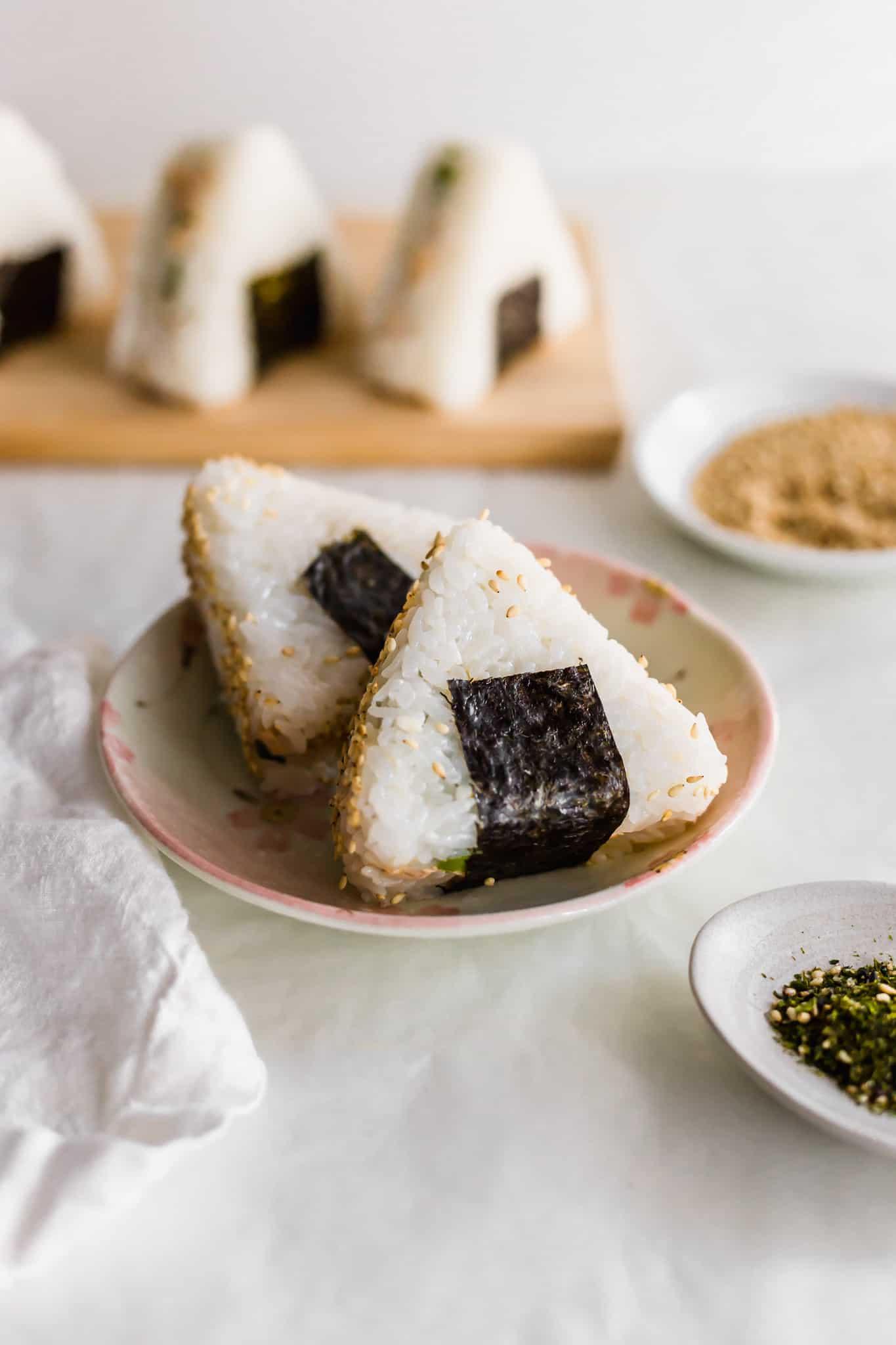 Spicy Tuna Onigiri Sift Simmer